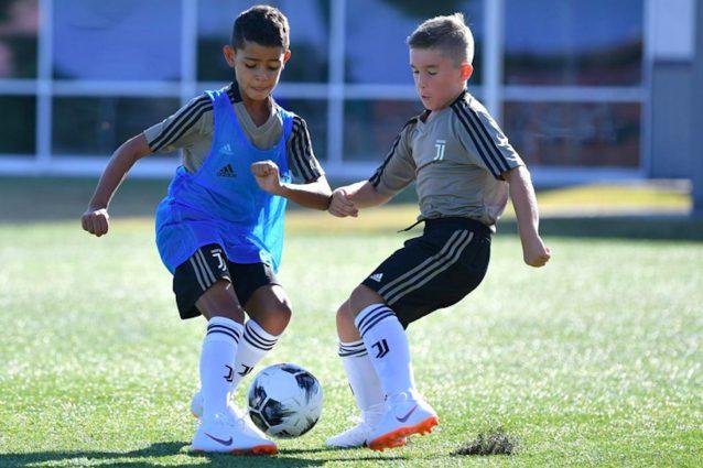 Cristianinho in azione – Foto @ Sito Juventus