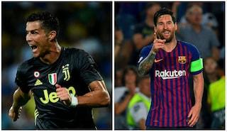 CR7 vs Messi: l'argentino vince su tutto, dai gol agli assist il portoghese è al tappeto