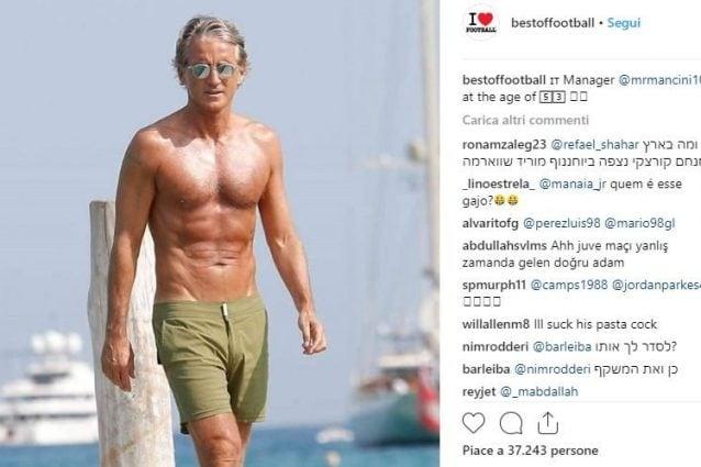 Calendario Fisico.Roberto Mancini Ha Un Fisico Da Figo Da Paura Mentre La