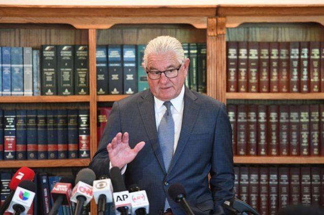 L'avvocato Leslie Mark Stovall