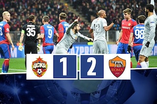 Champions, Di Francesco sorride: la Roma vince e ipoteca il passaggio agli ottavi