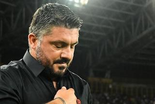 """Milan, Gattuso è furioso: """"Giovedì in Coppa, domenica mattina in campionato: assurdo"""""""