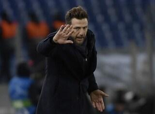 """Di Francesco: """"De Rossi, Pellegrini, El Shaarawy e Dzeko non ci saranno con l'Inter"""""""