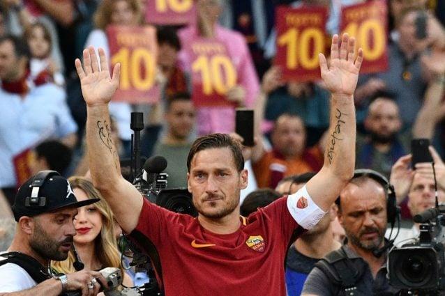 Francesco Totti storia di incontri