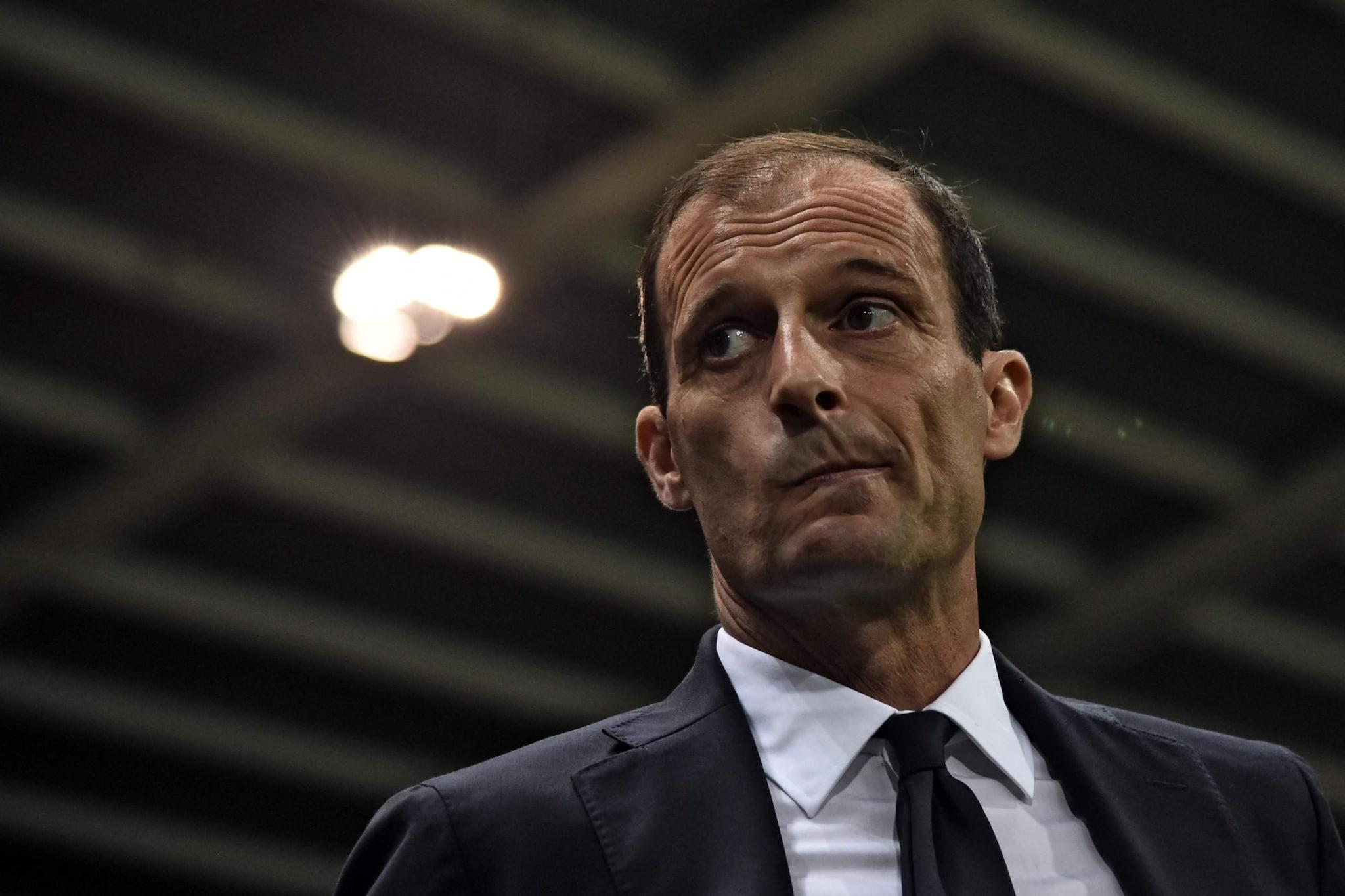 Max Allegri, tecnico della Juventus con cui ha vinto 4 scudetti.