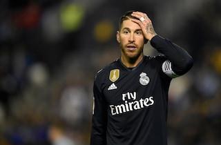 Sergio Ramos, problemi all'adduttore: il capitano del Real Madrid in dubbio per Roma