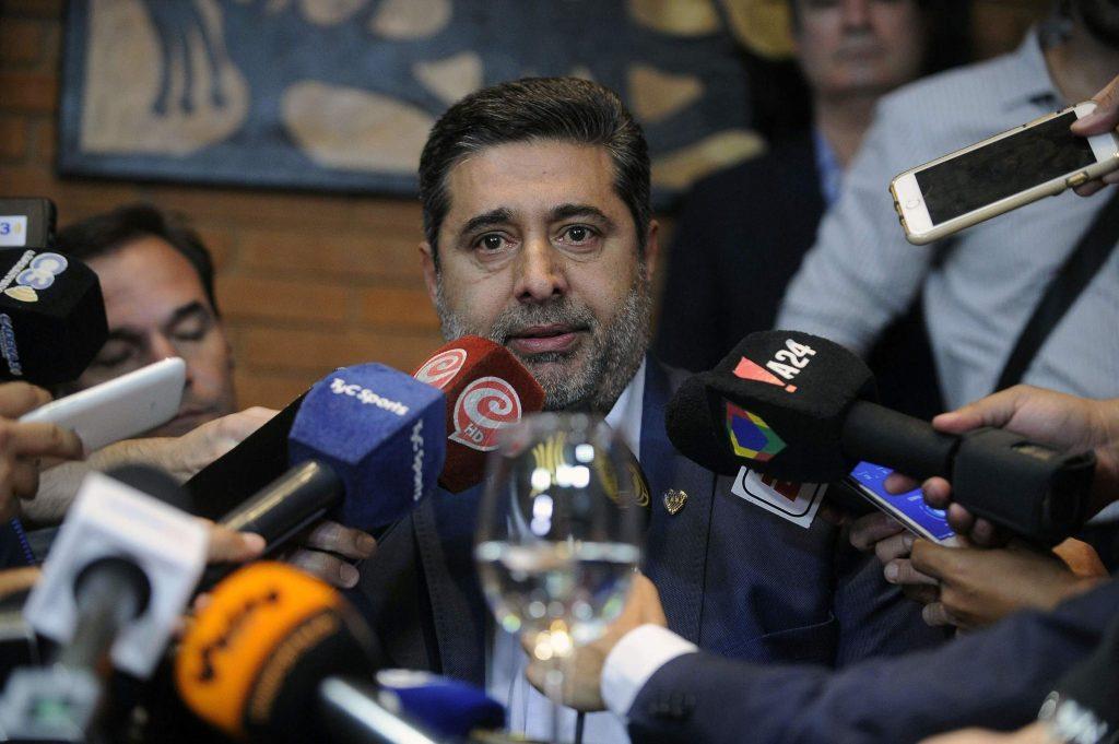 Daniel Angelici, il presidente del Boca Juniors