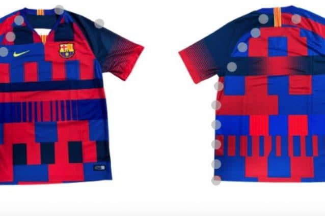competitive price e2402 b0cb4 Barcellona, maglia celebrativa della Nike per i 20 anni ...
