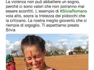 """Tweet di Claudio Marchisio: """"Silvia Romano, la meglio gioventù che ci riempie d'orgoglio"""""""