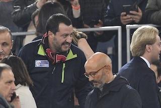 """Salvini, passo indietro: """"Gattuso miglior allenatore possibile per il Milan, ho parlato da tifoso"""""""