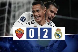 La Roma perde in casa con il Real ma è qualificata agli ottavi