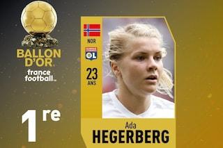 Chi è Ada Hegerberg il primo Pallone d'Oro femminile di France Football