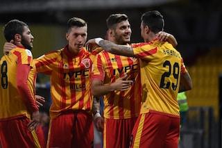 Coppa Italia: il Benevento batte il Cittadella 1-0, agli ottavi sfiderà l'Inter