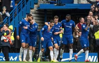 Chelsea-Fulham 2-0: Sarri batte Ranieri e torna 3° in Premier League