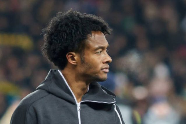 Juventus, Cuadrado operato al menisco: salta la Lazio