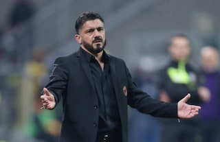 """Milan, Gattuso: """"Higuain? Poteva fare di più. Accetto la sua scelta come con Bonucci"""""""