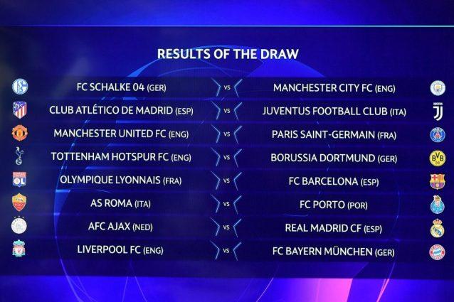 Calendario Champions Ottavi.Champions League Ottavi Il Calendario Con Date E Orario Di