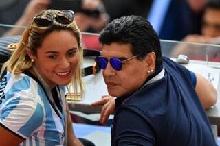 Rocio Oliva ha già un altro e caccia di casa Maradona (ma si tiene la villa)