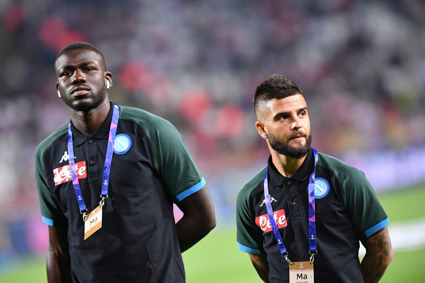 Koulibaly e Insigne non ci saranno contro il Bologna, squalificate dal Giudice Sportivo