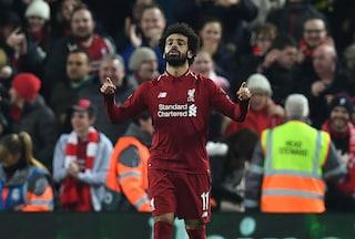 L'oro di Klopp si chiama Salah: infallibile ad Anfield, decisivo per il Liverpool