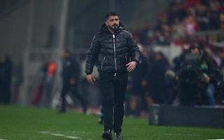 Milan, il club riflette su Gattuso e Higuain: il futuro di entrambi è a rischio