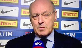 """Inter, Beppe Marotta: """"Eriksen? Nessun contatto con il Tottenham"""""""