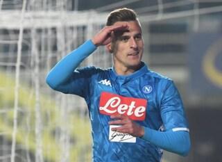 Milik 're' dei bomber di Serie A, meglio di CR7 e Icardi: in campionato 1 gol ogni 104'