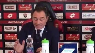 """La gaffe di Cesare Prandelli in conferenza: """"Non possiamo parlare di figa..."""""""