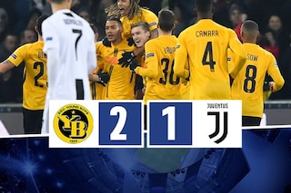 Champions, la Juve perde in Svizzera ma è prima nel girone. Chi pesca adesso?