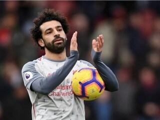 4-0 al Bournemouth, tripletta di Salah. Il Liverpool si prepara al match di Champions con il Napoli