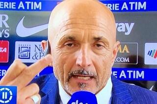Inter: Spalletti, la polemica su Totti e il dito medio in diretta Sky
