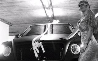 Wanda Nara, compleanno da urlo: il regalo di Icardi è una lussuosa Bentley nera