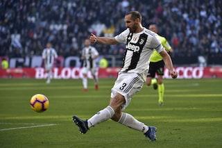"""Juventus, Chiellini è sicuro: """"Con Cristiano la Champions è un obiettivo"""""""