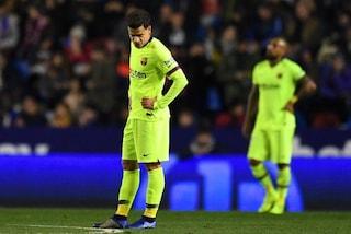 Coutinho è un caso e il Barcellona pensa alla cessione: staffetta con Neymar?