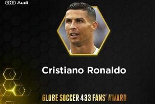 Globe Soccer Awards: Cristiano Ronaldo vince, davanti a Mbappè e Griezmann