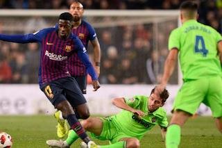 Copa del Rey: respinto il ricorso del levante, Barcellona ai quarti di finale