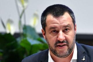 """Salvini non cambia idea: """"Se il Napoli si ferma per i cori razzisti sbaglia"""""""