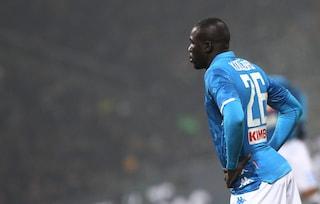 Napoli, respinto il ricorso per Koulibaly: il difensore starà fuori anche con la Lazio