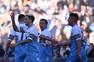 Lazio ai quarti di Coppa Italia, 4-1 al Novara: doppietta Immobile e magia di Milinkovic
