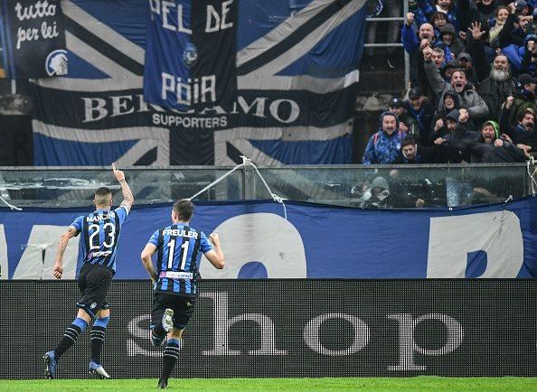 La sequenza dei gol di Mancini in campionato (Transfermarkt)