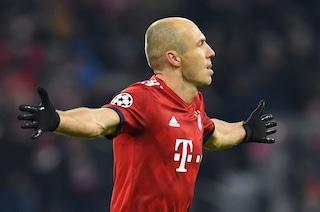 """Arjen Robben si ritira dal calcio giocato: """"La decisione più difficile della mia vita"""""""