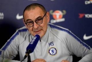 """Sarri fiducioso per Higuain: """"Il Chelsea lo sta trattando, ma non so quanto sia vicino"""""""