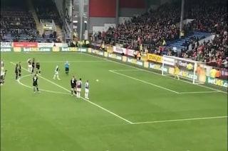 FA Cup, Vydra del Burnley fermato dal Var durante la rincorsa per un calcio di rigore