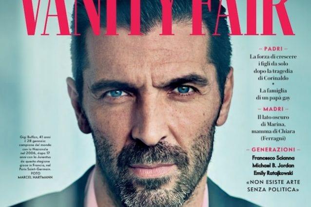 Buffon sulla copertina di Vanity Fair