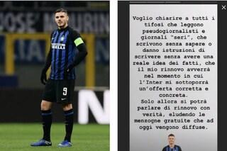 """Caso rinnovo, Mauro Icardi scatenato su Instagram: """"Inter, serve offerta corretta e concreta"""""""