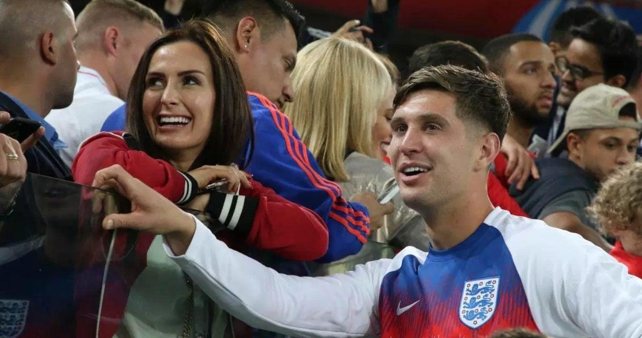 Stones con Millie ai Mondiali 2018.