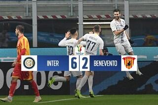 Inter formato 'Toro': doppietta di Lautaro al festival del gol contro il Benevento