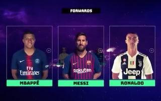 Mbappé fa fuori Neymar, ecco la Top 11 di Champions League della Uefa