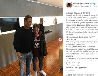 Da Corinaldo a Trigoria: la storia di Michele Fiscaletti, tifoso della Roma e di Totti