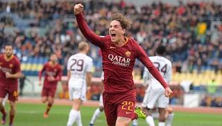 La giocata fenomenale di Nicolò Zaniolo in Roma-Torino
